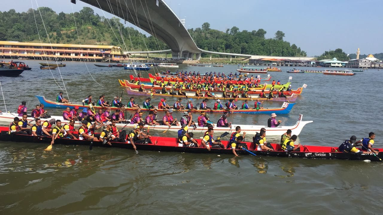 Brunei River comes alive for Regatta 2018 - The Scoop