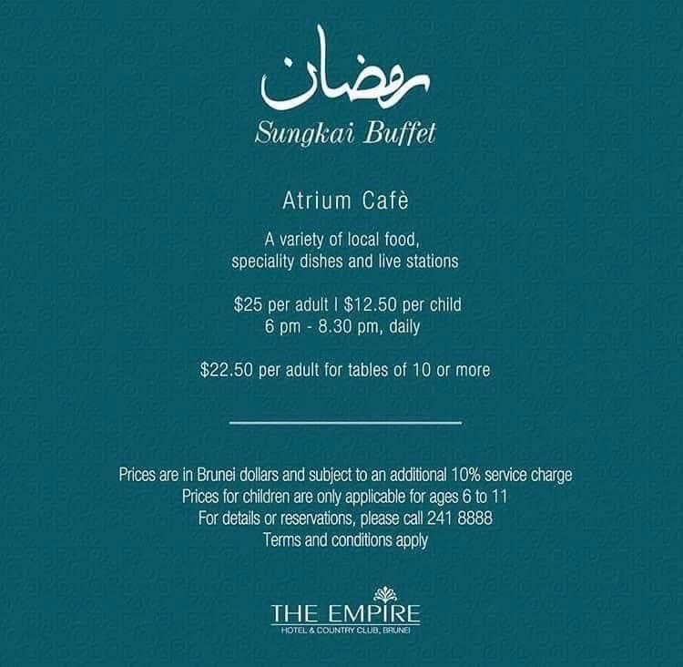 Ramadhan Food Guide - The Scoop