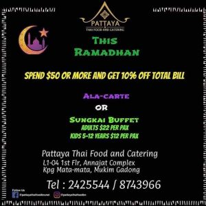 Pattaya Thai Food and Catering