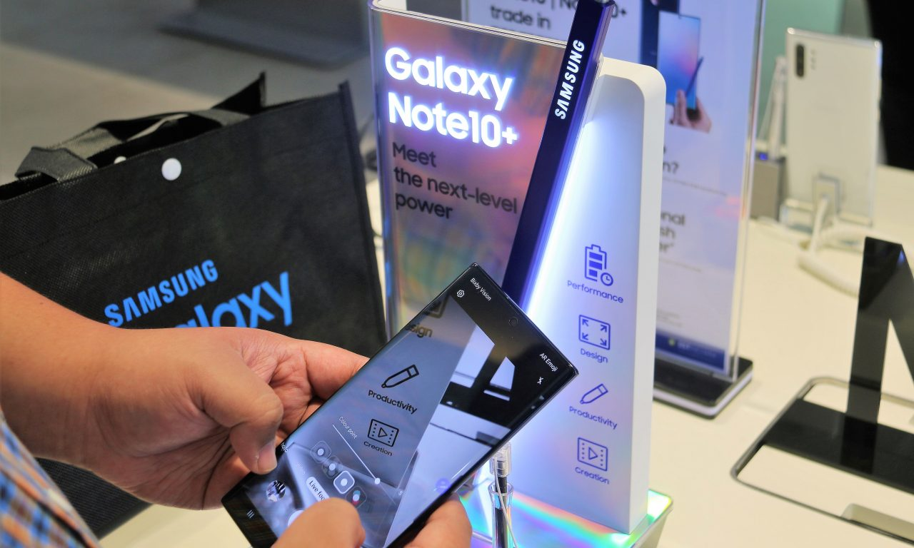 The wait is over: Samsung's Galaxy Note 10 and 10+ hits