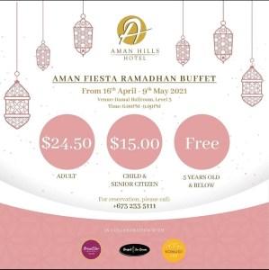 Aman Fiesta Ramadhan Buffet