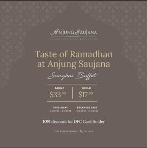 Taste of Ramadhan at Anjung Saujana