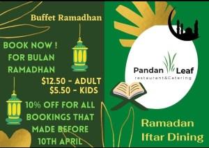 Pandan Leaf Restaurant & Catering